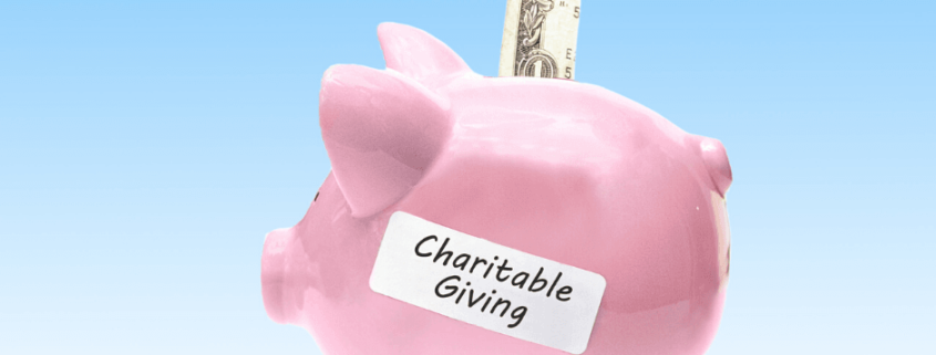 Charitable Giving Made Easier by Congress During the COVID-19 Crisis