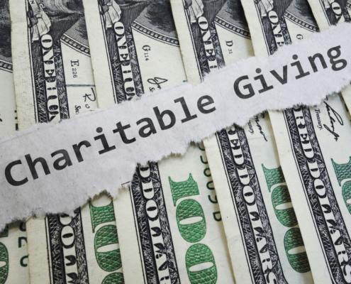 Tax Effects of a Business Making a Charitable Contribution