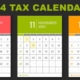Key Tax Deadlines for Businesses and Employers in Q4 2020