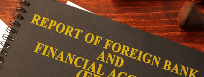 Foreign Account Reporting (FBAR) Due October 15
