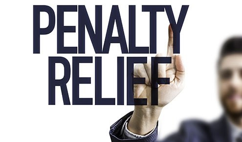 Penalty Notice sign